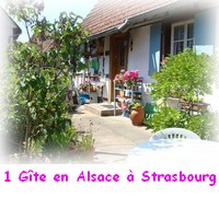 Un gite en Alsace � Strasbourg