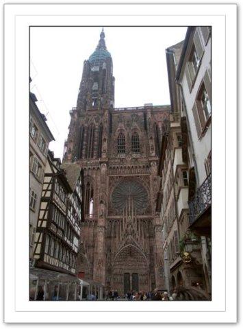 La Cathédrale de Strasbourg en Alsace à 15 km du gite